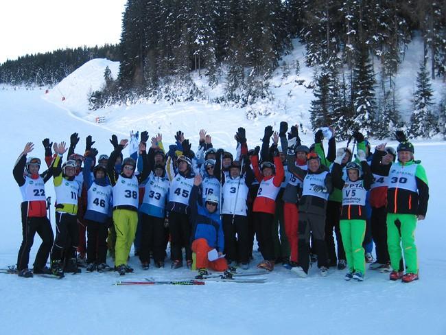 Die sportlichen VÖEH-Mitglieder machten sich bereit für die Winterchallenge, die in drei Bewerben ausgetragen wurde.