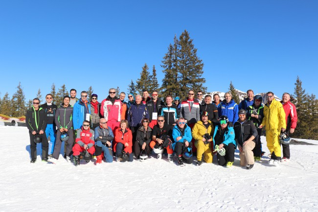 Winterfachtage in Saalbach: Teamwork wird bei den VÖEH-Mitgliedern groß geschrieben.